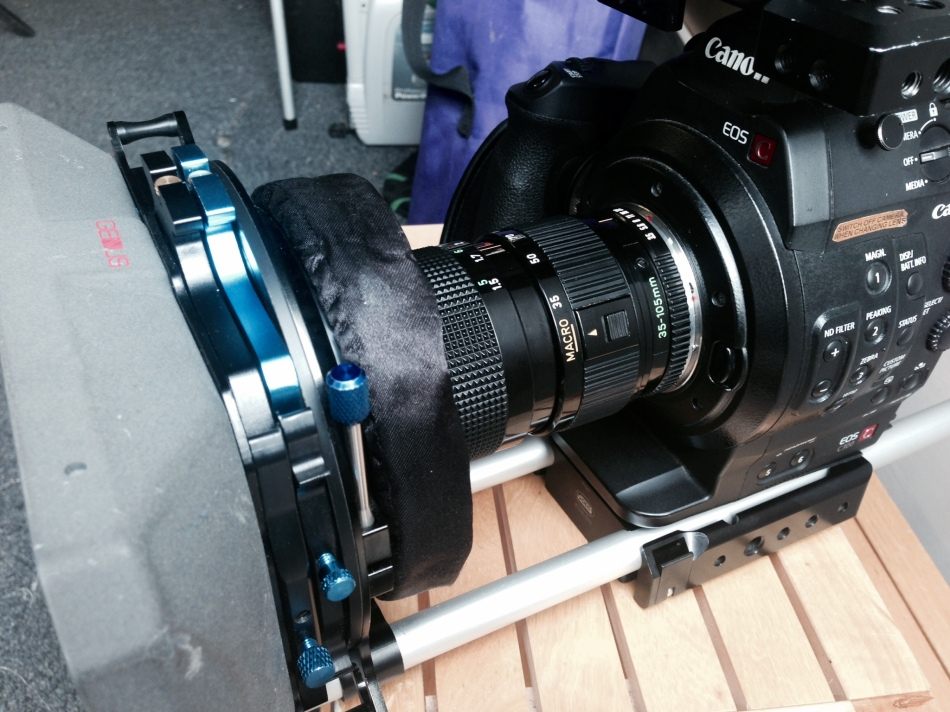 Genus matte box on c300